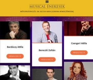 MUSICAL ÉNEKESEK
